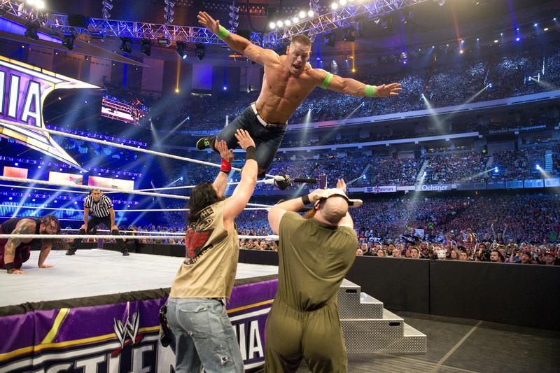 """WWE加快在华脚步,希望培养出一个""""摔跤界的姚明"""""""