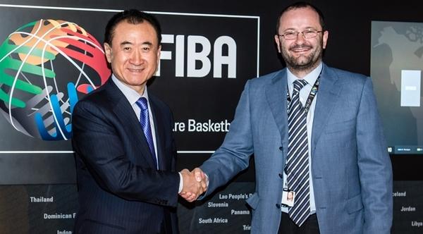 万达成为国际篮联全球独家商业伙伴,王健林足球布局后发力篮球
